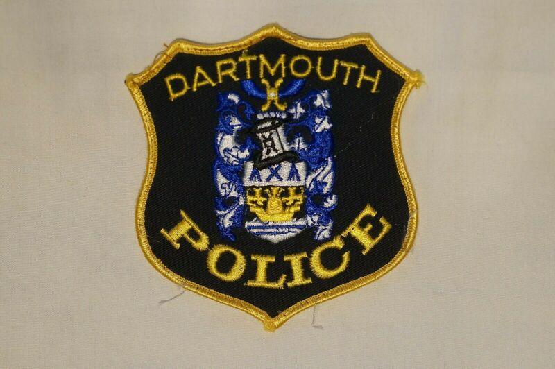 Canadian Nova Scotia Dartmouth Police Error Patch 2 Single