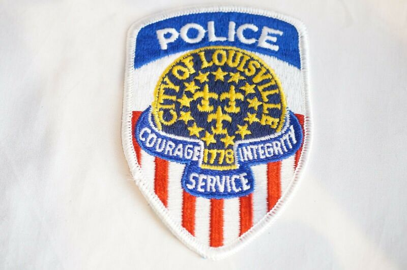 US City of Louisville Kentucky Police Patch