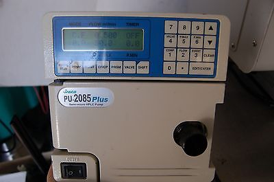 Jasco Pu-2085 Hplc Pump Chromatography Semi-micro  Pu2085 Intelligent