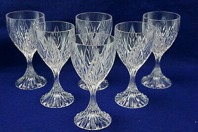 Mikasa Ridge (Mikasa Park Ridge (6) Wine Glasses, 6 3/8