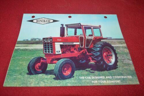 International Harvester Hiniker Cab For Tractor Brochure TBPA