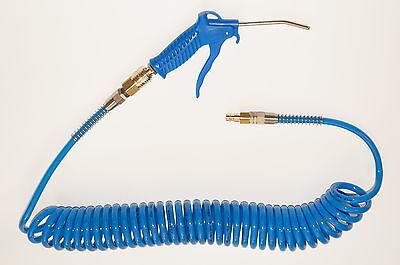 Druckluft - Spiralschlauch Druckluftspiralschlauch 6m komplett m. Pistole