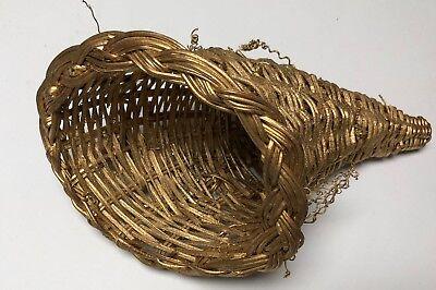 Gold Cornucopia Basket 10