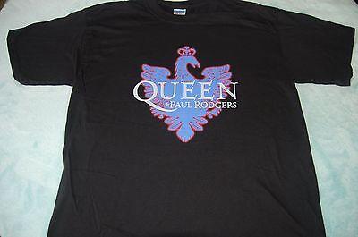 QUEEN Shirt Black Size XL Adult + PAUL RODGERS 2005 Tour Shirt NEW