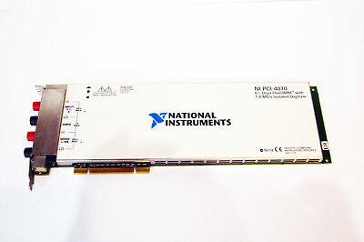 National Instruments Ni Pci-4070 Multimeter Card 6-12 Digits Ni Daq Dmm