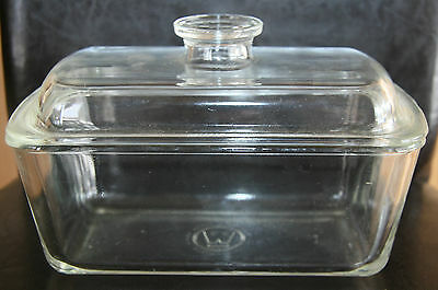 Vintage Westinghouse Covered Refrigerator Dish - Casserole