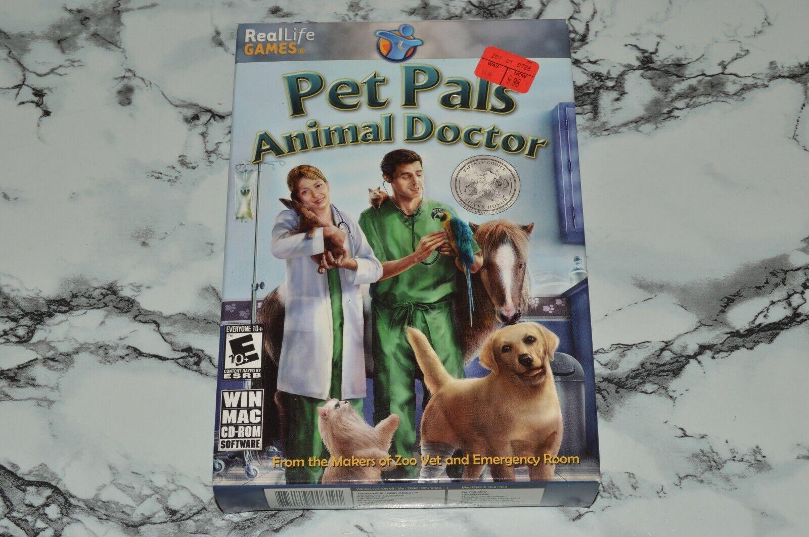 NEW - Pet Pals - Animal Doctor Windows / Mac CD-ROM, 2008  - $12.68