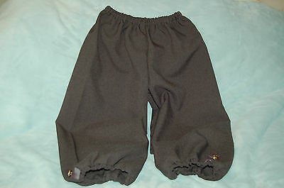 Children's Dress Up Colonial/Medieval/Pirate Knickers, Gray, Large, NEW 3 sizes