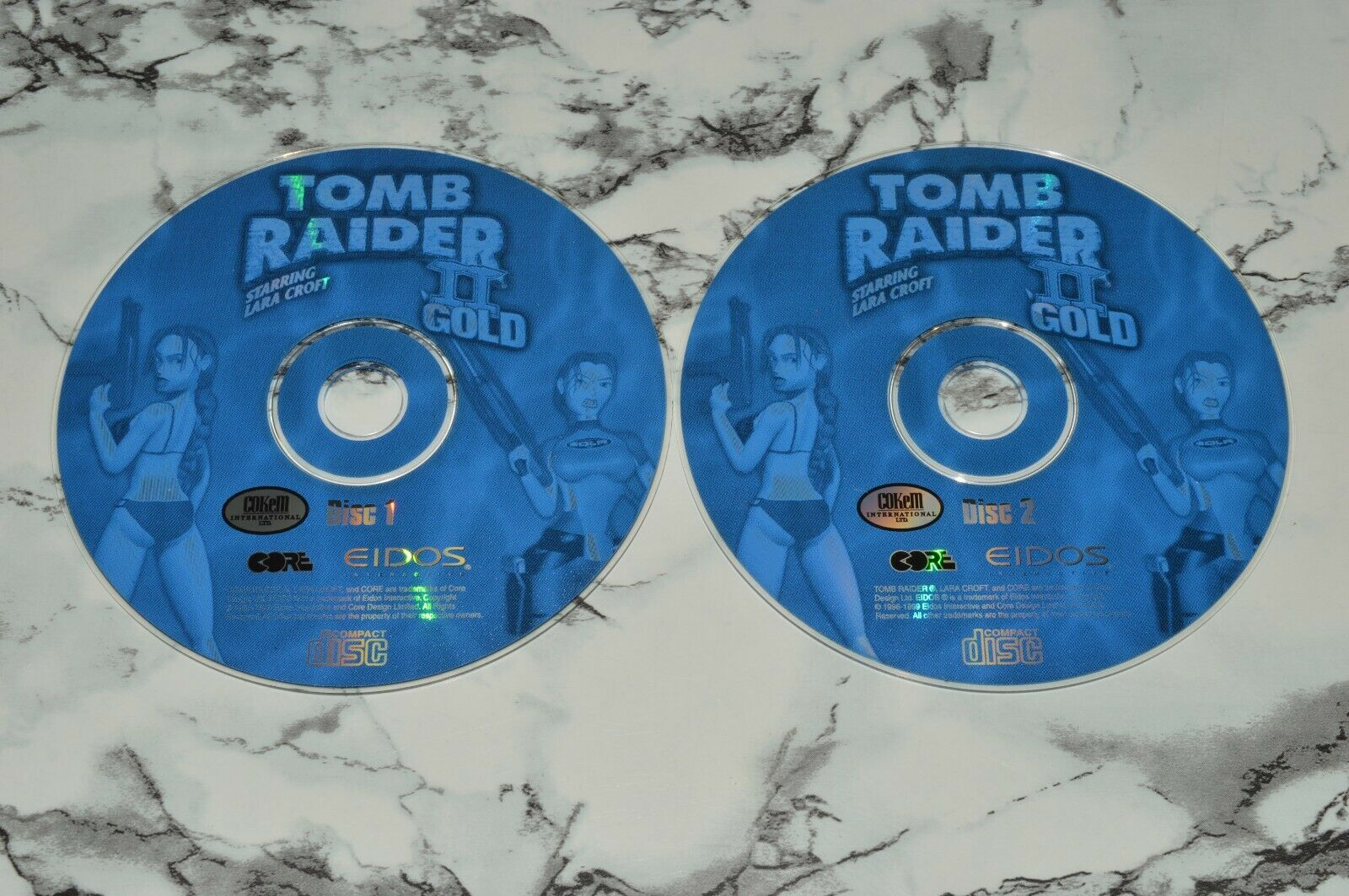 Tomb Raider II Two / 2 - Gold PC CD-ROM -- GAME DISC ONLY - $12.68