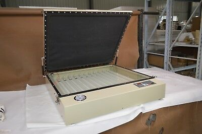 Commercial Precise Uv Vacuum Exposure Unit 2420in Screen Print Plate Die Making