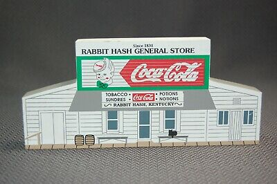 Cats Meow1992 Rabbit Hash General Store Cincinnati Wooden Shelf Sitter