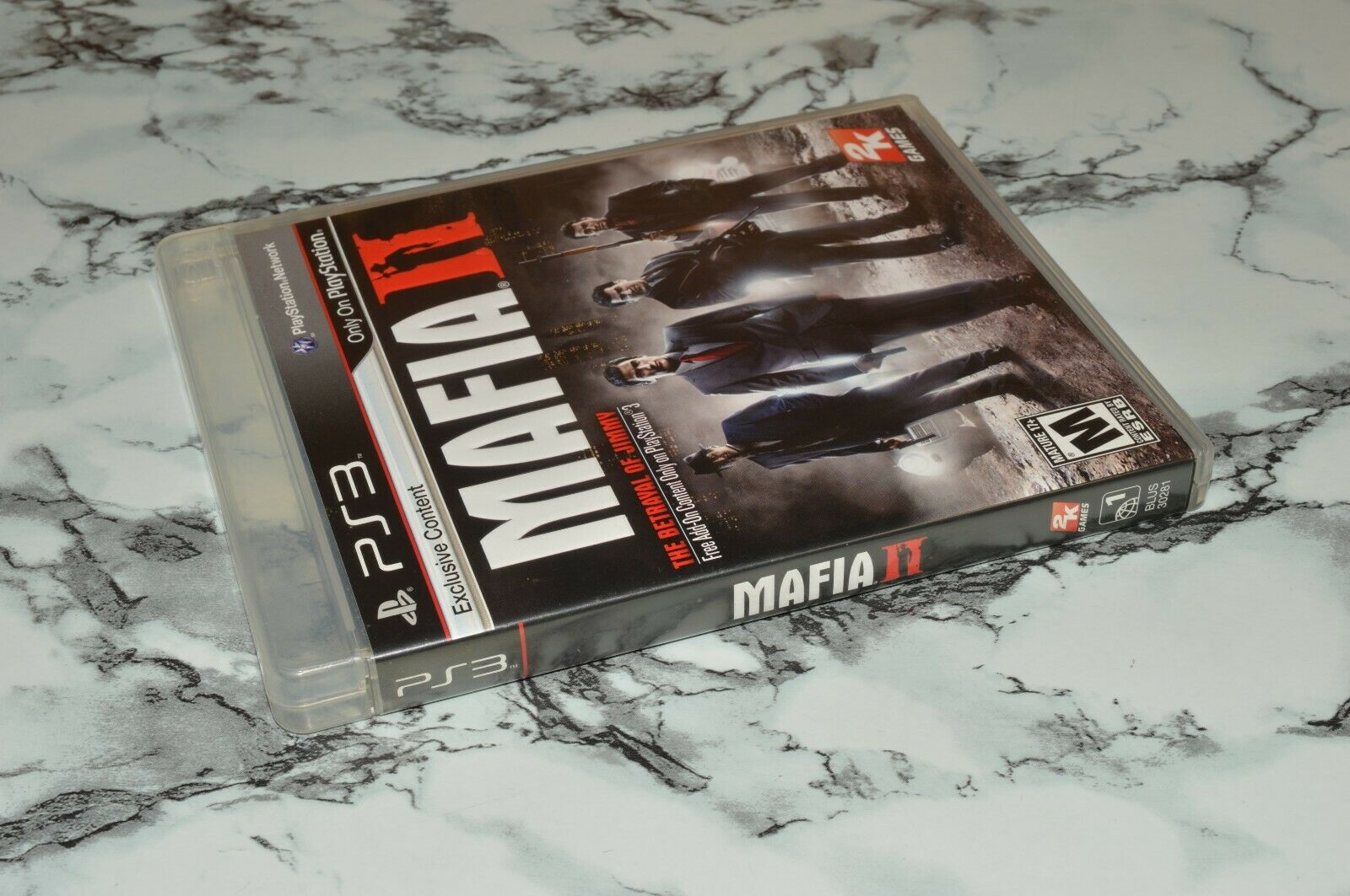 Mafia II Two / 2 -- Sony PlayStation 3 PS3, 2010 -- Complete W/ Manual Map - $11.18