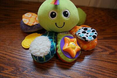 Lamaze Baby Activity Time Octopus Plush Toy Sensory Textures