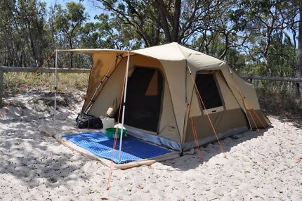 Black Wolf Turbo 300 Plus Tent & Black Wolf Turbo Tent 300 Plus with Basecamp Fly | Camping ...