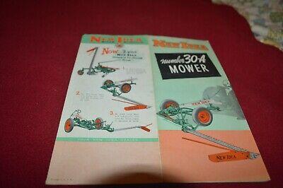 New Idea Electric Riding Mower Dealer/'s Brochure AMIL15