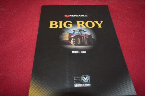 Versatile Big Roy 1080 Tractor 50 Years Of Power Brochure FCCA