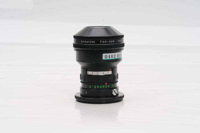 Spiratone 0.15x Fish-Eye Camera Lens Fisheye                                #402
