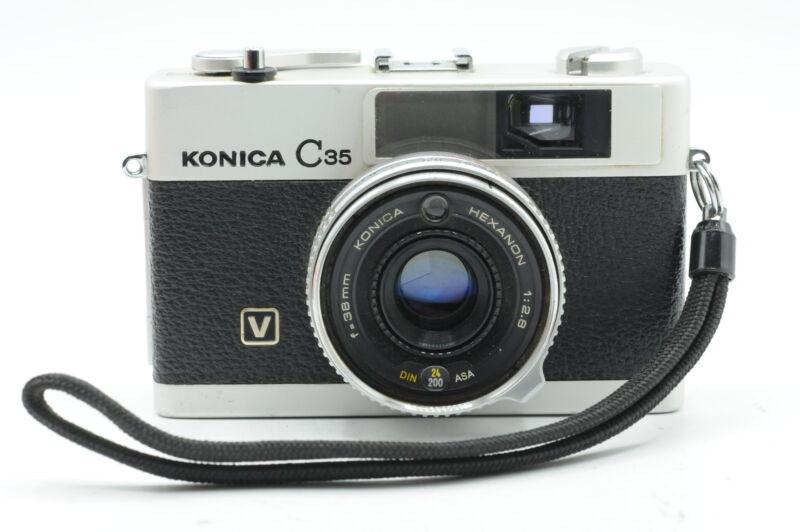 Konica C35 35mm Film Rangefinder Camera w/38mm f2.8 Lens #862