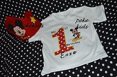 BIRTHDAY mickey mouse TUTU outfit PARTY OUTFIT   short / long sleeve - Mickey Mouse Tutu Costume