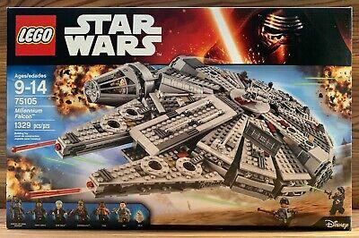 NEW - LEGO Star Wars MILLENNIUM FALCON 75105 - HOW MANY PARSECS AGAIN?