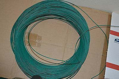 22 Awg Gauge Solid Hook Up Wire Green 50ft 300 Volts