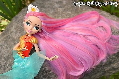 Ever After High Custom Meeshell Mermaid Reroot Doll Custom OOAK