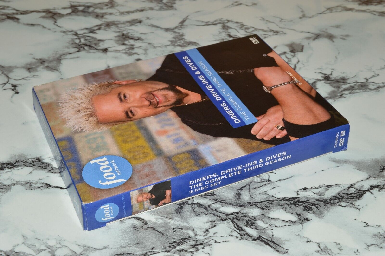 Diners, Drive-Ins Dives - The Complete Third Three / 3 Season DVD Box Set  - $12.68
