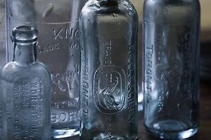 Private collector looking for old, antique bottles and sealers
