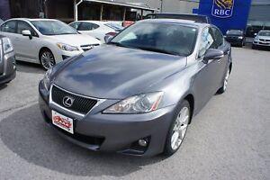 2012 Lexus IS 250 PREMIUM PKG | LEATHER | SUNROOF | CLEAN CARPRO