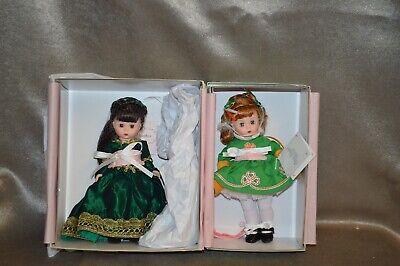 Lot of Two Madame Alexander Dolls Irish Banshee 42510 & Sassy Irish Lassy 51510