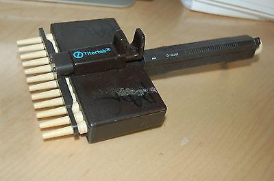 Titertek Labsystems Pipet Multichannel 12 Channel Pipet Pipette 50 Ul Hero
