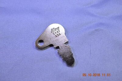 Ilco 1147 Pre-cut Flat Key For Baraga Case John Deere Mf Terramite Others