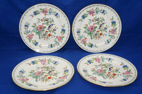 "Aynsley Pembroke (4) Dinner Plates, 10 5/8"" (Box #3)"