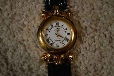 Women's ANNE KLEIN Quartz Watch Two Genuine Leather Bands