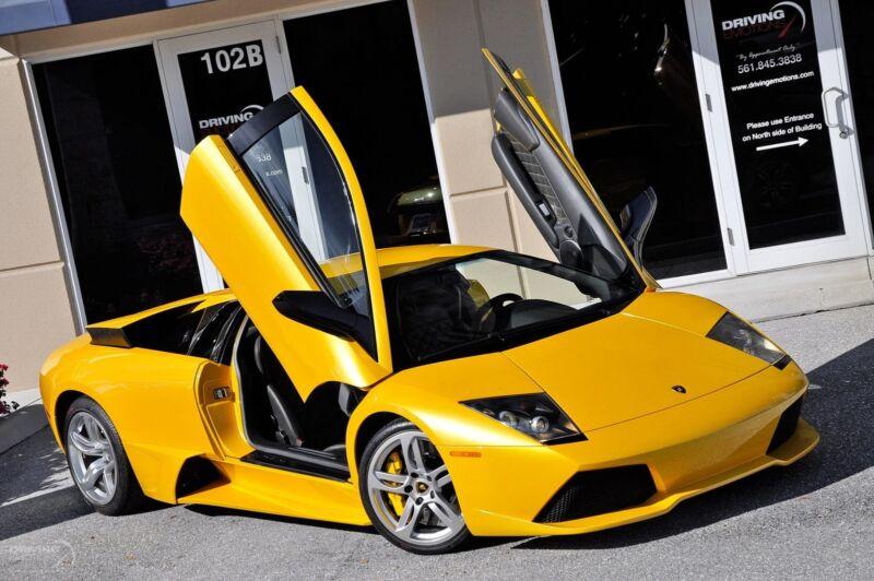 Image 3 Voiture Européenne d'occasion Lamborghini Murcielago 2008
