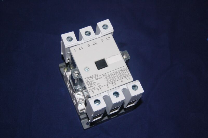 1pc New FITS 3TF46 22 AC CONTACTOR 45A COIL 24V AC 50/60HZ