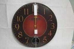 Howard Miller Harmon Gallery Wall Clock 625-374 Wrought-Iron Frame 26-1/4
