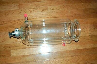 Chemglass Glass  Reactor 5l 5 Liter Chemrxnhub Process Vessel Chemrxnhub Jlm