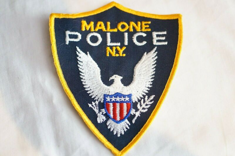 US Malone New York Police Patch