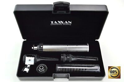 Taxxan Veterinary Otoscope Set Metal Adapter Use Standard Disposable Speculum