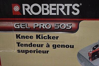 Roberts Gel Pro 505 Knee Pad Lever Kicker Adj Angled Carpeting Installation Tool