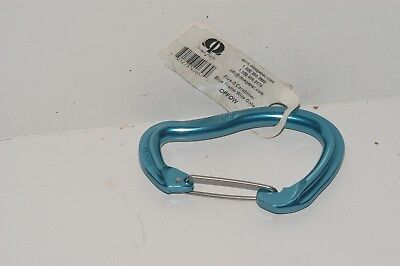 Omega OPFOW Pacific Five-O Wire Gate Carabiner - Blue Frame