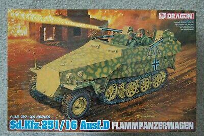 1/35 DRAGON SdKfz 251 / 16 Aus. D FLAMMPANZERWAGEN KIT 6247