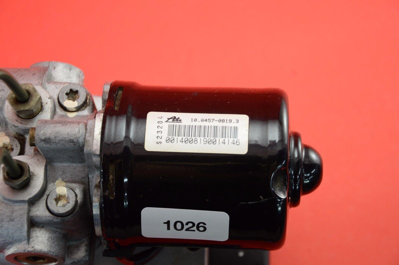 Used G#1 1995-1997 Jaguar Xj6 Xj12 Abs Pump Control Module Anti Lock Brake Lna2210aa for Sale ...