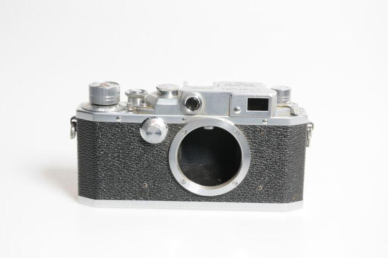 Canon IIIA Rangefinder Film M39 LTM Camera Body #434