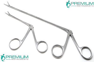 Hartman Alligator Forceps 3.3 8 Ent Surgical Ear Instruments Set Of 2