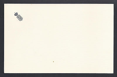 Rare Tsar Nicholas II of Russia Antique Embossed Private Stationery