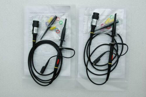 2x 200MHz Oscilloscope Scope analyzer Clip Probe test leads kit for HP Tektronix