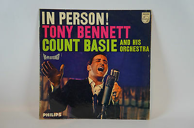In Person - Tony Bennett, Count Basie and his Orchestra, Albumrarität! Vinyl(8)