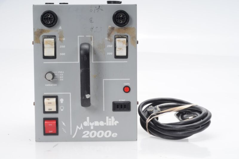 Dyna-Lite M2000E Power Pack M-2000E Dynalite                                #084
